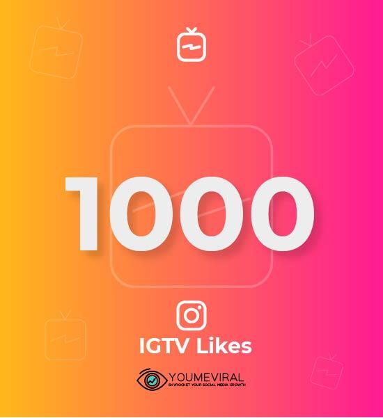 Buy 1000 IGTV Likes Cheap