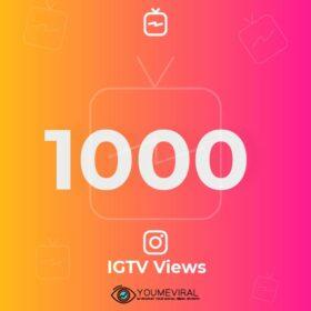 Buy 1000 IGTV Views Cheap