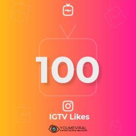 Buy 100 IGTV Likes Cheap