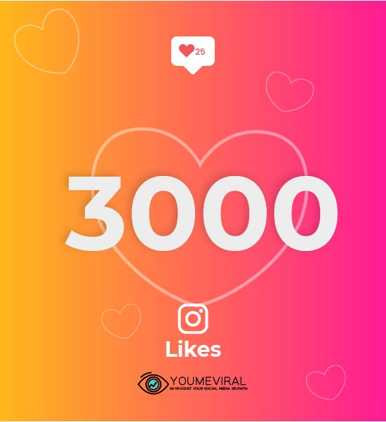 Buy 3000 Instagram Likes Cheap