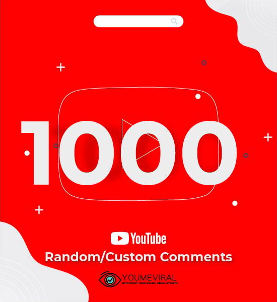 Buy 1000 YouTube Comments Cheap