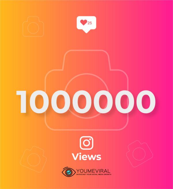 Buy 1000000 Instagram Views Cheap