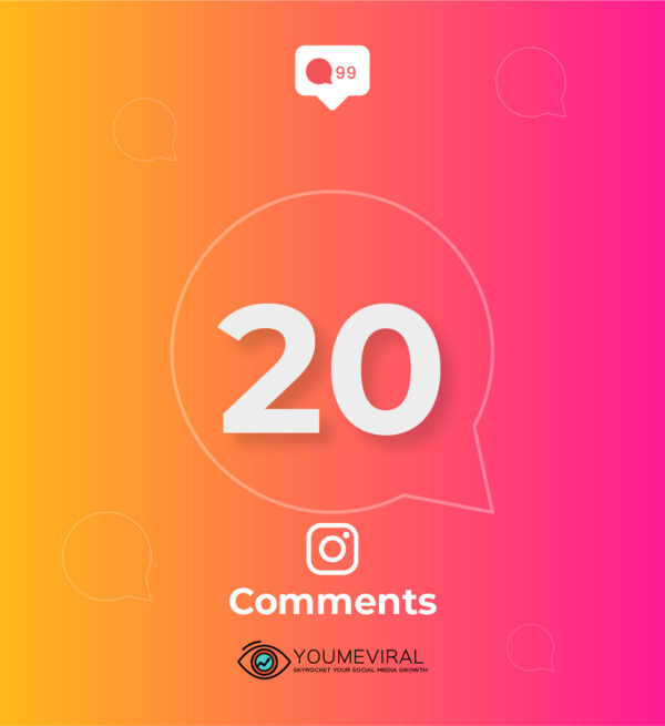 Buy 20 Instagram Custom Comments Cheap