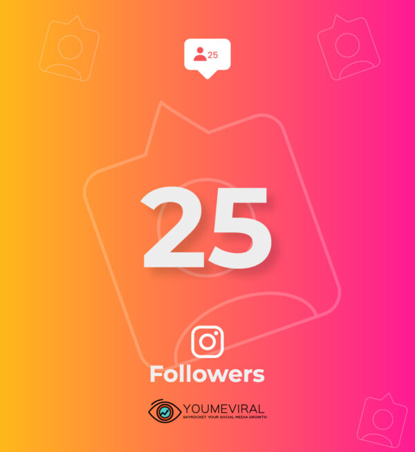 Buy 25 Instagram Followers Cheap