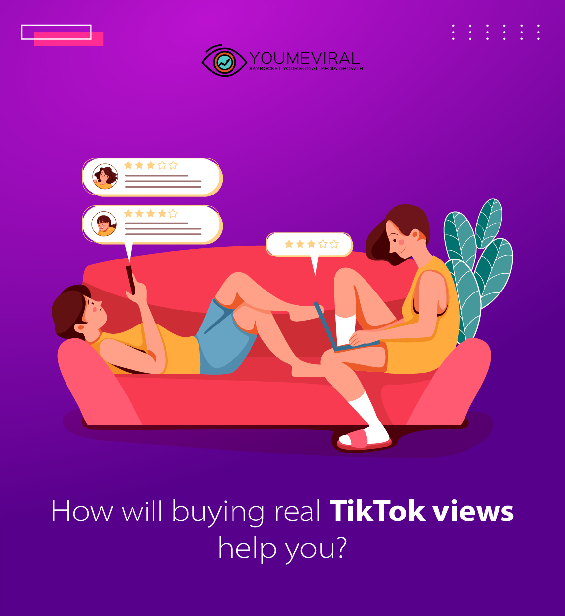 How will buying real TikTok views help you?