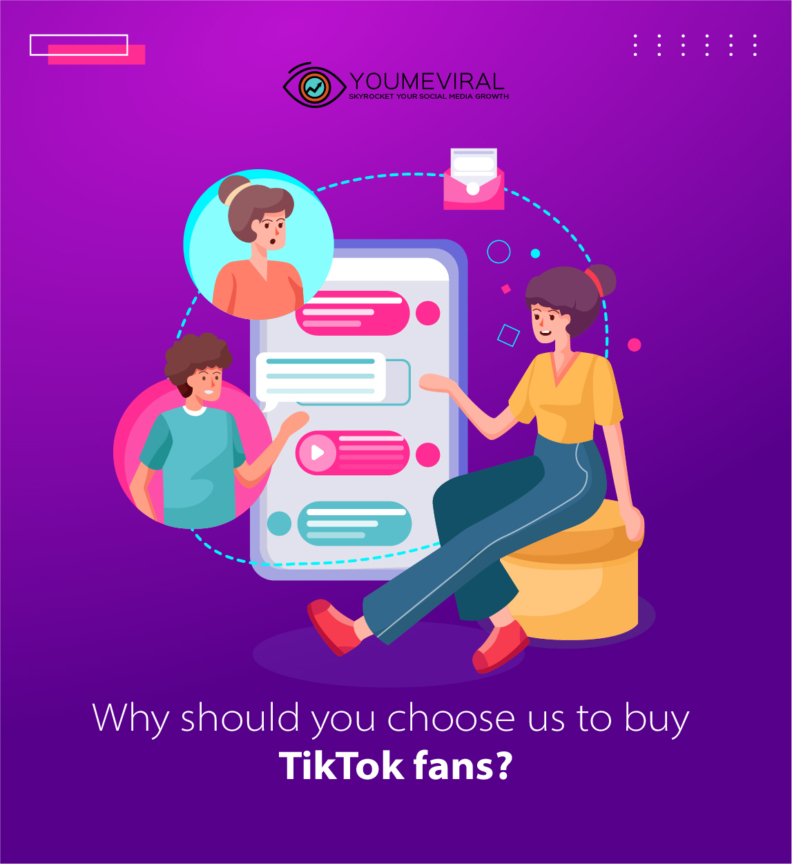 Why should you choose us to buy TikTok followers?