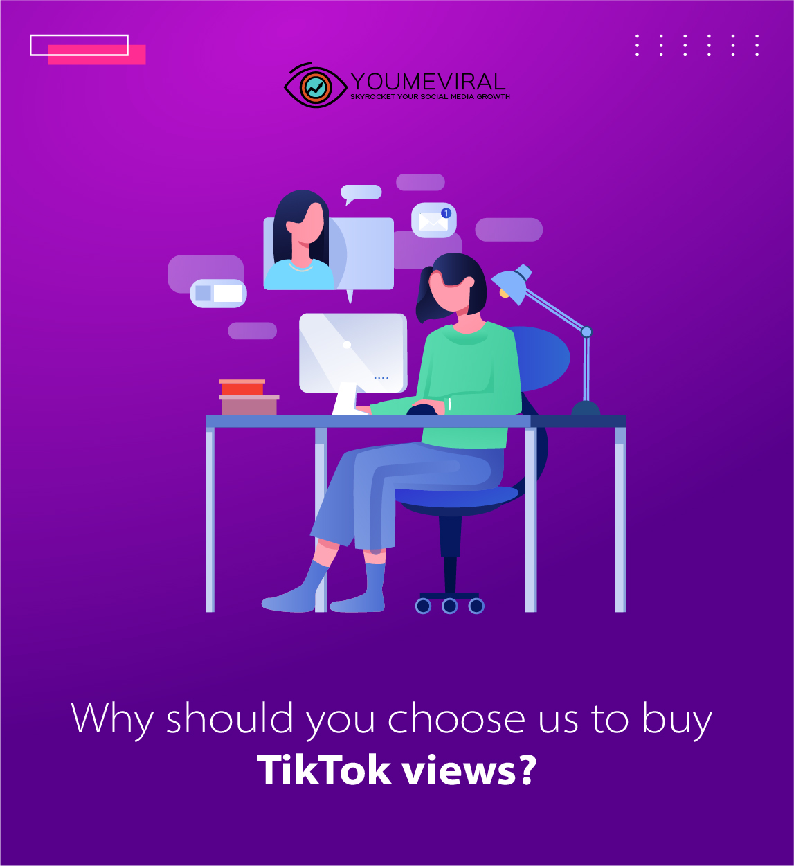 Why should you choose us to buy TikTok views?