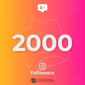 Buy 2000 Instagram Followers Cheap