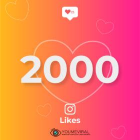Buy 2000 Instagram Likes Cheap