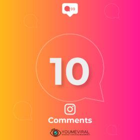 Buy 10 Instagram Custom Comments Cheap