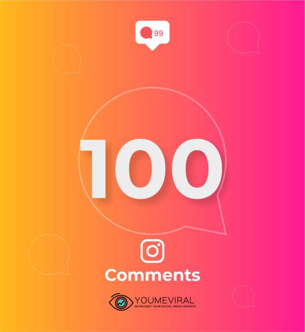 Buy 100 Instagram Custom Comments Cheap
