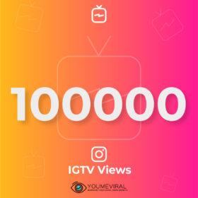 buy 100000 IGTV Views Cheap