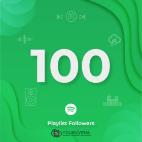 Buy 100 Spotify Followers - Playlist Cheap