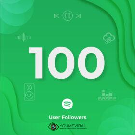 Buy 100 Spotify Followers - User Cheap
