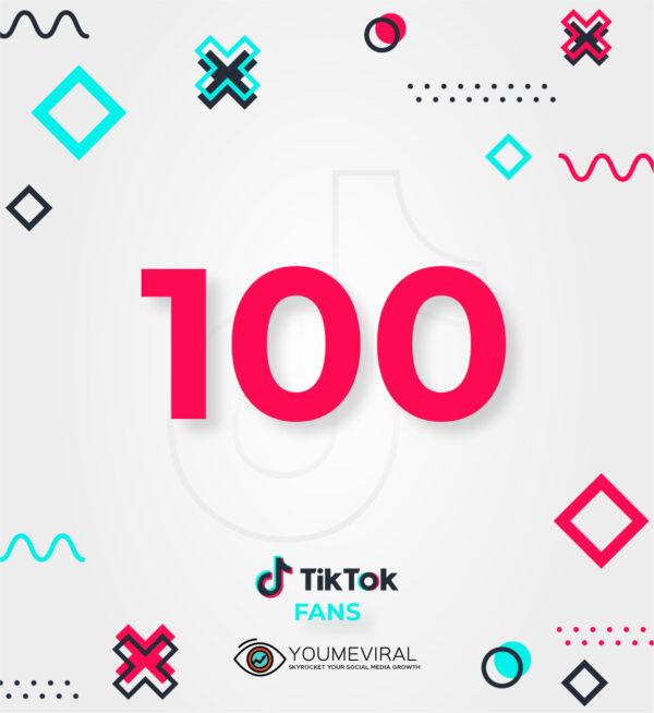 Buy 100 TikTok Followers (Fans) Cheap