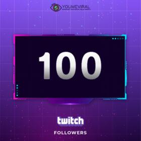 Buy 100 Twitch Followers Cheap