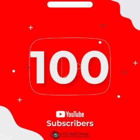Buy 100 YouTube Subscribers Cheap