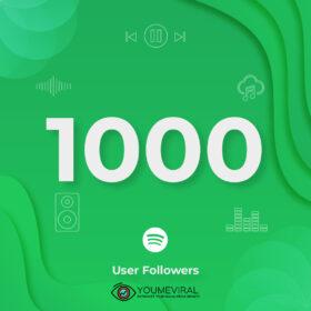 Buy 1000 Spotify Followers - User Cheap