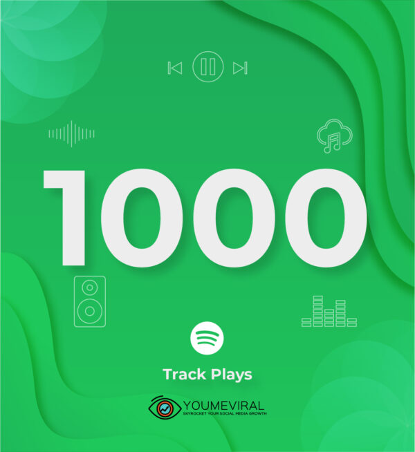 Buy 1000 Spotify Plays - Track Cheap