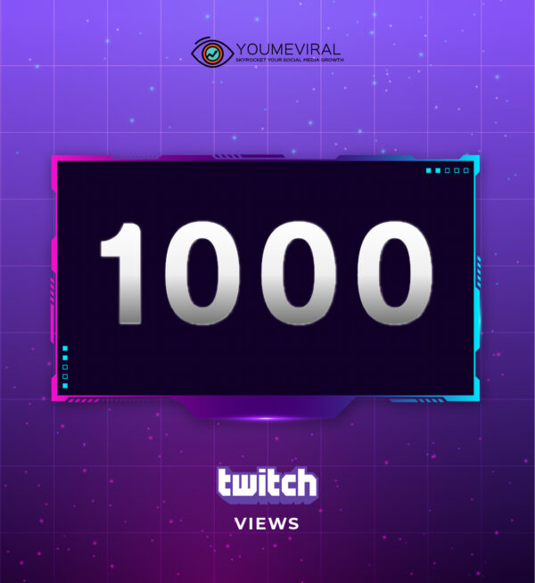 Buy 1000 Twitch Channel Views Cheap