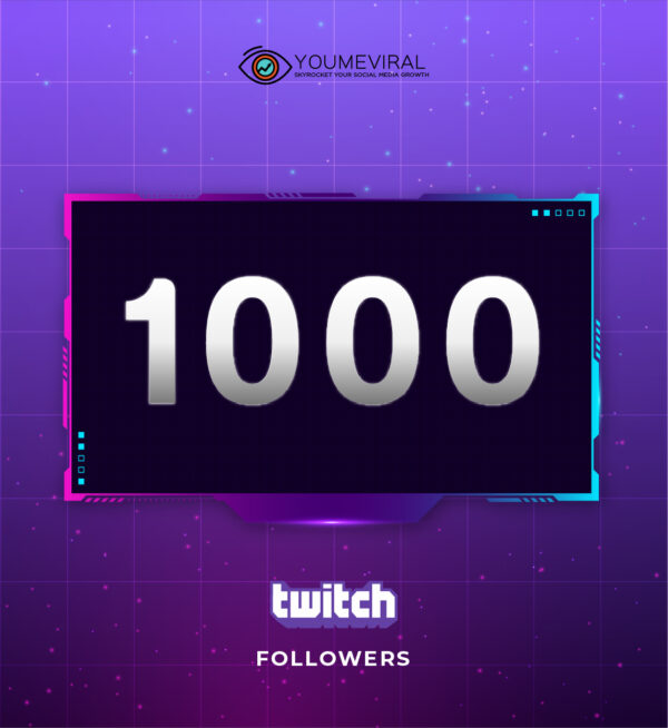 Buy 1000 Twitch Followers Cheap