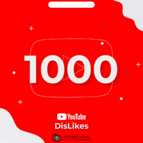 Buy 1000 YouTube DisLikes Cheap
