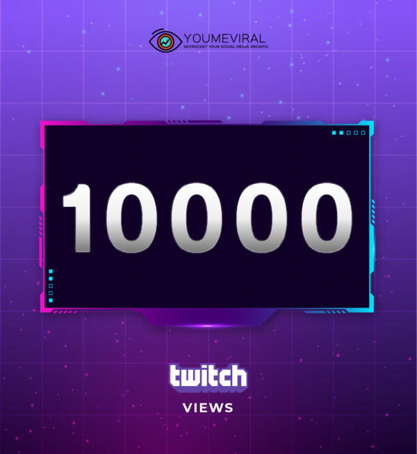 Buy 10000 Twitch Channel Views Cheap