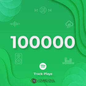 Buy 100000 Spotify Plays - Track Cheap