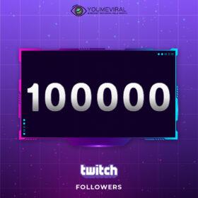 Buy 100000 Twitch Followers Cheap