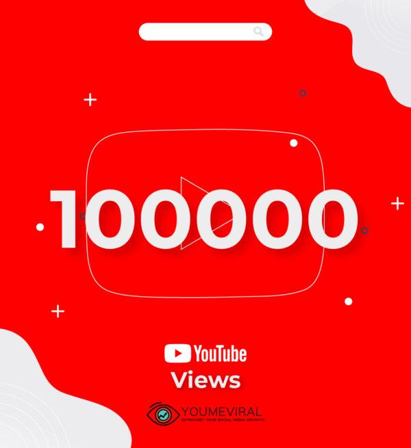 Buy 100000 YouTube Views Cheap