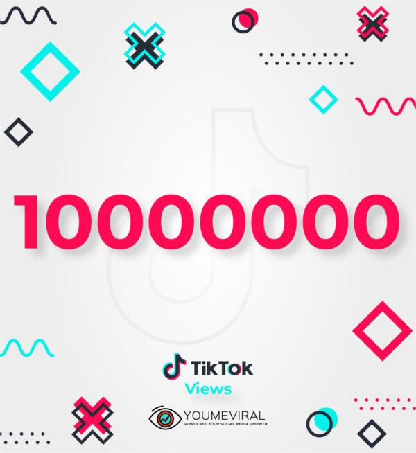 Buy 10000000 TikTok Views Cheap