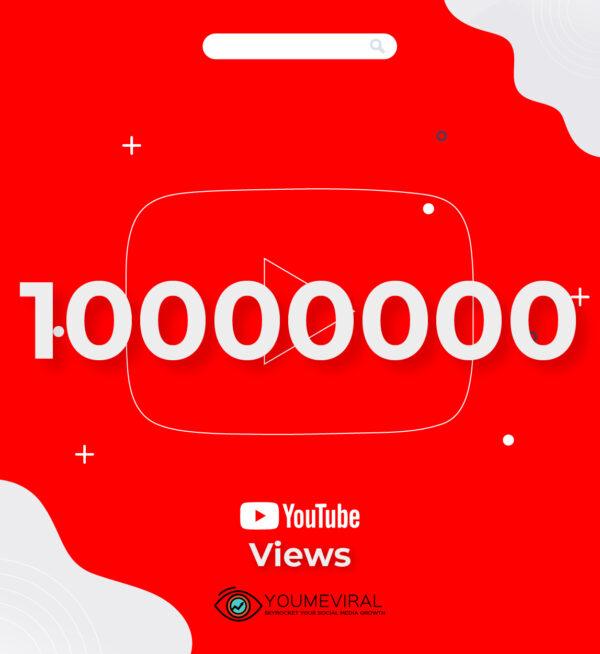 Buy 10000000 YouTube Views Cheap