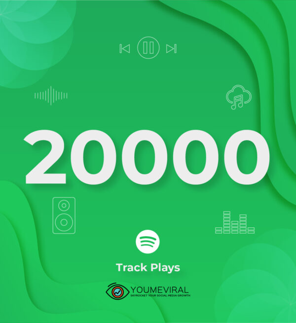 Buy 20000 Spotify Plays - Track Cheap