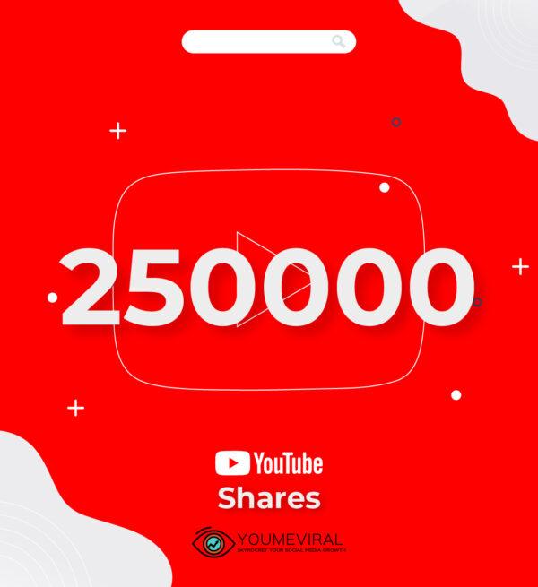 Buy 250000 YouTube Shares Cheap