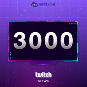 Buy 3000 Twitch Channel Views Cheap