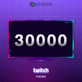 Buy 30000 Twitch Channel Views Cheap