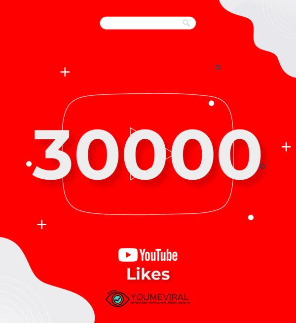 buy 30000 YouTube Likes Cheap