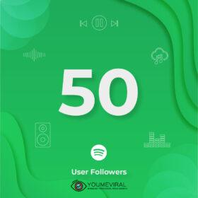Buy 50 Spotify Followers - User Cheap