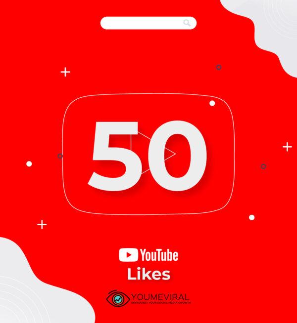 buy 50 YouTube Likes Cheap
