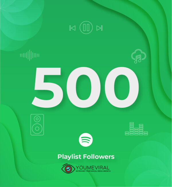 Buy 500 Spotify Followers - Playlist Cheap