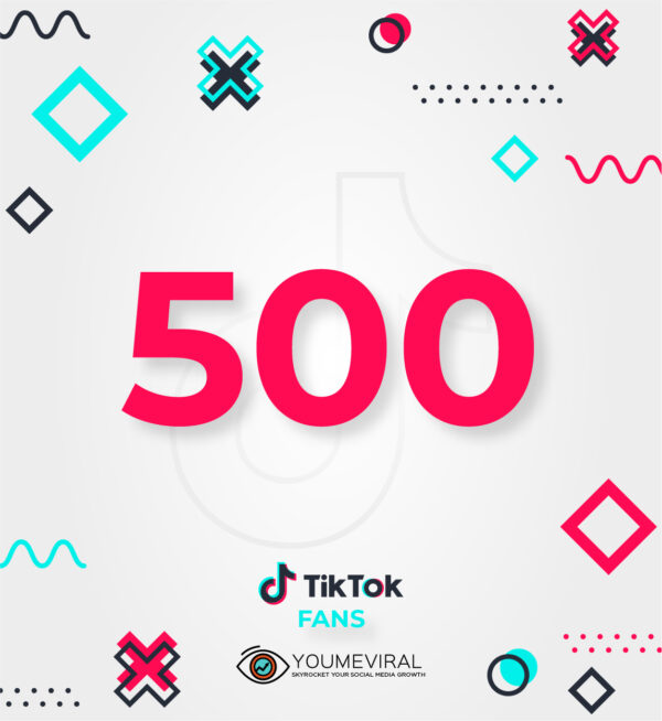 Buy 500 TikTok Followers (Fans) Cheap