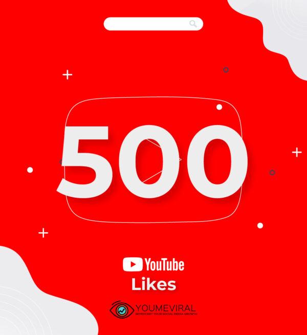 buy 500 YouTube Likes Cheap