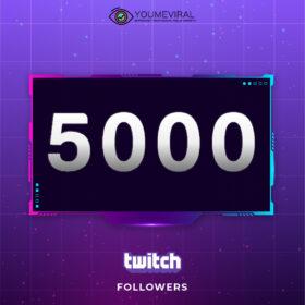 Buy 5000 Twitch Followers Cheap