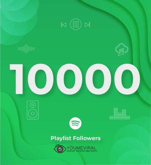 Buy 10000 Spotify Followers - Playlist Cheap