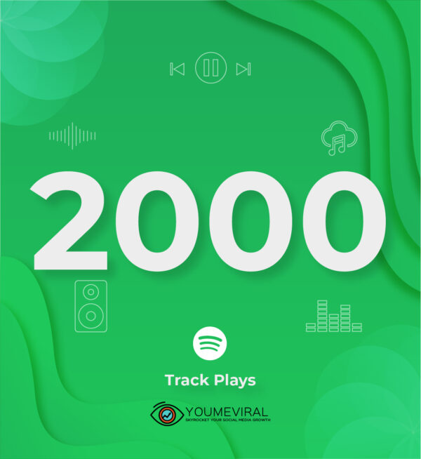 Buy 2000 Spotify Plays - Track Cheap