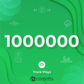Buy 1000000 Spotify Plays - Track Cheap