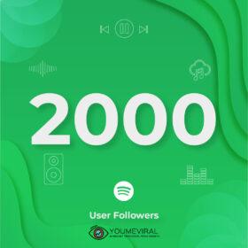 Buy 2000 Spotify Followers - User Cheap