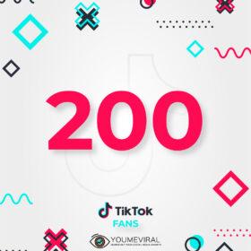 Buy 200 TikTok Followers (Fans) Cheap