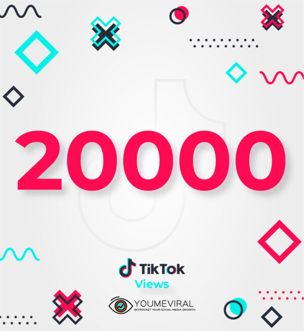 Buy 20000 TikTok Views Cheap