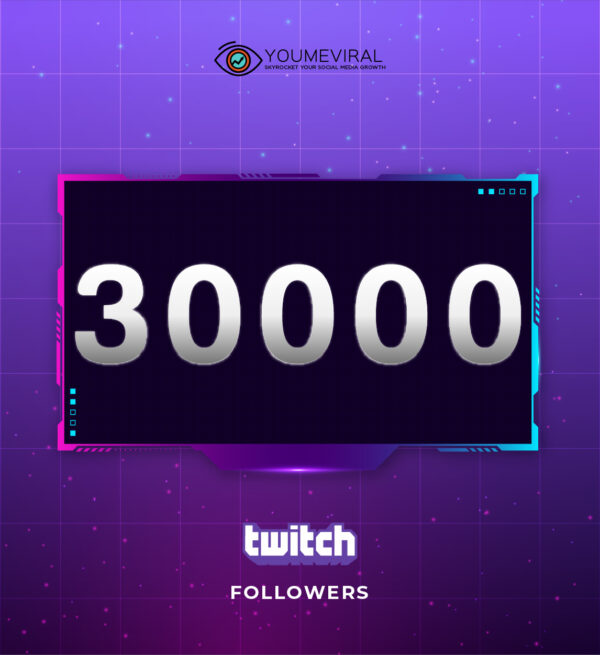 Buy 30000 Twitch Followers Cheap